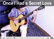 YouTube video of Kinloch Nelson playing Once I Had A Secret Love