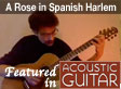 YouTube video of Kinloch Nelson playing A Rose in Spanish Harlem